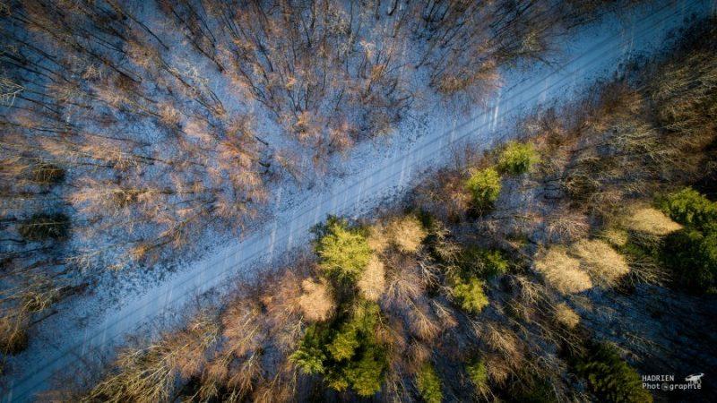 Photos aériennes pardrone